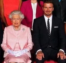 【イタすぎるセレブ達】デヴィッド・ベッカム エリザベス女王は「最高のリーダー」