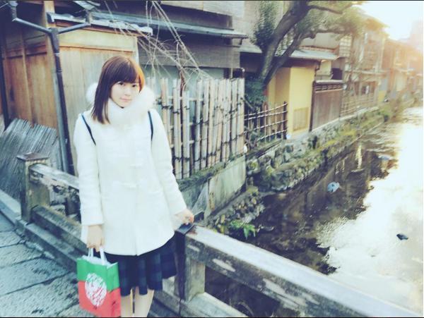 京都を旅するみるきー(出典:https://www.instagram.com/miyukichan919)