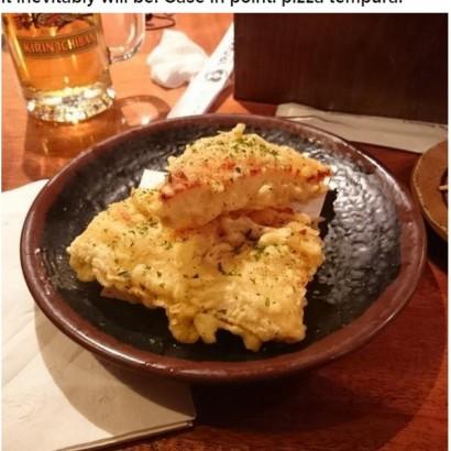 【海外発!Breaking News】「ピザの天ぷら」米NYの居酒屋で大人気メニューに