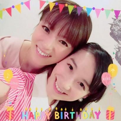 【エンタがビタミン♪】篠原ともえ 誕生日は「仲良しっ」深田恭子と一緒に過ごす
