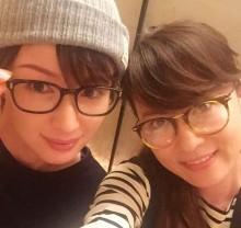 【エンタがビタミン♪】鈴木砂羽と吉瀬美智子、2ショットに「久々のオトナ女子!」