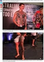 【海外発!Breaking News】「タトゥーエキスポ」開催 1万人超のタトゥー愛好家が集結(豪)