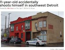 【海外発!Breaking News】デトロイトの11歳少年、ライフル銃で誤って尻を撃つ 親の留守中に