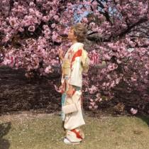【エンタがビタミン♪】梅宮アンナ『桜を見る会』へ 艶やかな振袖姿に「美しすぎてため息」