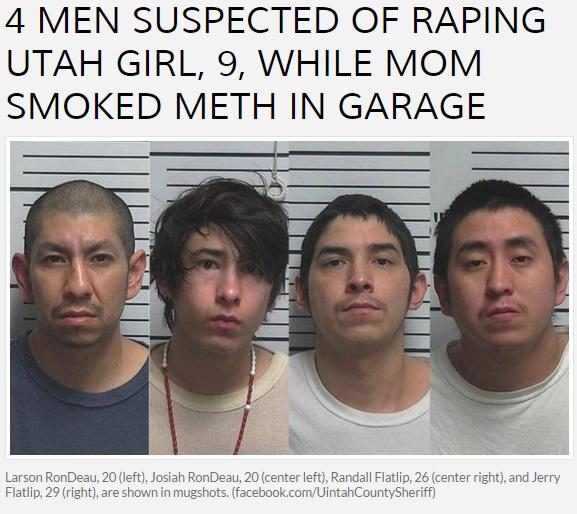 【海外発!Breaking News】男4人パーティ別室で9歳女児を強姦 母親は近くで覚せい剤(米)