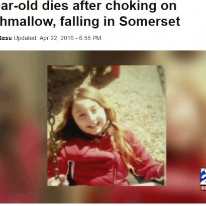 【海外発!Breaking News】マシュマロで窒息死 11歳女児、友人の誕生パーティで(米)
