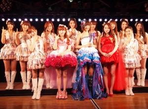 『AKB48チームK2期生10周年記念特別公演』にて