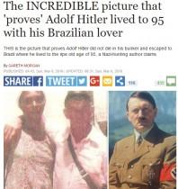 【海外発!Breaking News】「ヒトラーはブラジル逃亡後95歳で死没」説が再熱!? トレジャーハンターらも期待