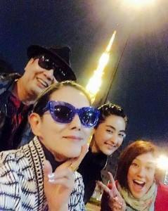 斉藤ノヴ、夏木マリ、シシド・カフカ、LiLiCo(出典:https://www.instagram.com/shishido_kavka)