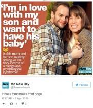 【海外発!Breaking News】生き別れた51歳母と32歳息子、再会で男女の関係に「子供も欲しい」(米)