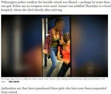 【海外発!Breaking News】高校トイレで女子生徒殴られ死亡 暴行中に携帯で動画撮影も(米)