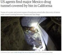 【海外発!Breaking News】サンディエゴ-ティファナ間でまたドラッグトンネル! 24億円相当のコカインと大麻