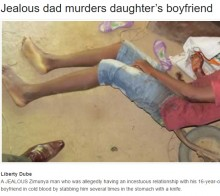 【海外発!Breaking News】「娘は俺のもの」嫉妬の父、16歳娘の心を奪った17歳少年を刺殺(ジンバブエ)