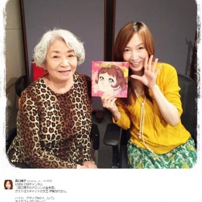【エンタがビタミン♪】『ハイジ』の歌手・伊集加代 共演した森口博子が感動「素敵な78才!」