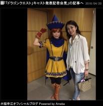 【エンタがビタミン♪】しょこたん バレエ・井脇先生の鍛え抜いた背中に感動「女子のオーガ!」