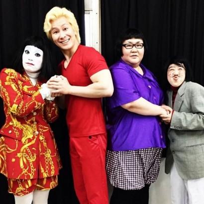 【エンタがビタミン♪】メイプル超合金&日本エレキテル連合 4人はお笑い界の「アベンジャーズ」?
