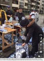 【海外発!Breaking News】ランナー用飲料水を集団略奪 ロンドンマラソンで