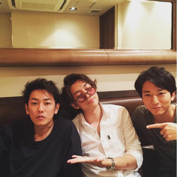 佐藤健、三浦翔平、浅香航大(出典:https://www.instagram.com/shohei.63)