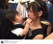 【エンタがビタミン♪】大家志津香が母性溢れる 赤ちゃんを抱く姿に「いいママになれそう」