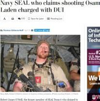 【海外発!Breaking News】ビンラディン殺害の米海軍特殊部隊兵士、飲酒運転で逮捕