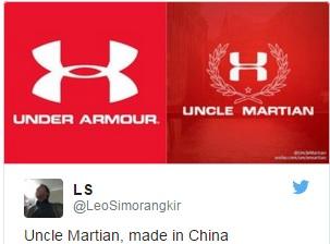 【海外発!Breaking News】パクリ大国中国 今度は米スポーツ用品ブランドをいただき