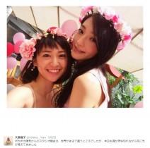 【エンタがビタミン♪】大島優子「魂が燃料切れ」 多忙ながらも笑顔ショット
