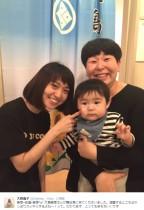 【エンタがビタミン♪】大島優子 舞台『美幸』の楽屋に本家・大島美幸親子