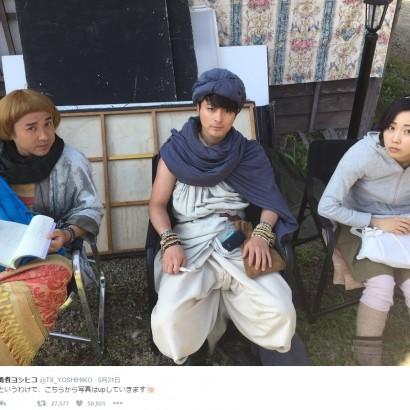 【エンタがビタミン♪】『勇者ヨシヒコ』 撮影現場からお願い「写真撮影はご遠慮くださいね」