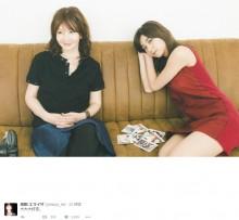 【エンタがビタミン♪】YOUがモデルのよう 池田エライザが対談のオフショット