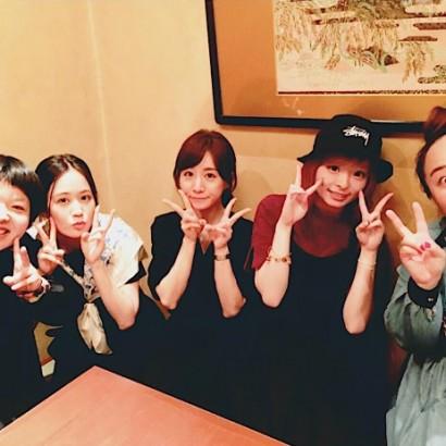 【エンタがビタミン♪】女子アナに芸人、アーティストも 前田敦子の女子会ショットが超豪華!