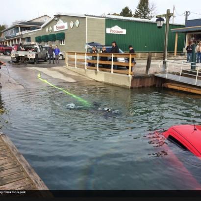 【海外発!Breaking News】カーナビ通りに運転していた女性 湖に車ごと転落(カナダ)