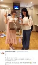 【エンタがビタミン♪】しょこたん セーラームーン声優・三石琴乃の訪問に「ミラクルロマンス!!」