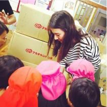 【エンタがビタミン♪】スザンヌ 熊本・益城町の保育園へ「明るくてこちらが救われます」