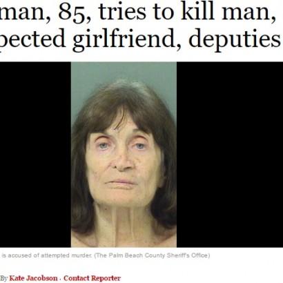 【海外発!Breaking News】「浮気」と妄想 85歳妻、嫉妬のあまり83歳夫に発砲(米)