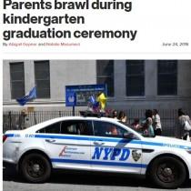 【海外発!Breaking News】卒園式でモンペ6名が殴り合いの大喧嘩 警察も出動する騒ぎに(米)