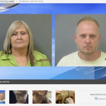 【海外発!Breaking News】飼い犬の耳をハサミで切り落とした親子、動物虐待容疑で逮捕(米)