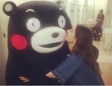 【エンタがビタミン♪】くまモン&スザンヌ 再会を喜ぶ姿に「二人の元気で熊本に癒しを」