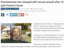【海外発!Breaking News】少女ら12名と同居の中年男「借金のカタに娘を与えられた」と供述(米)