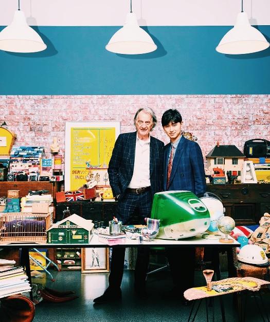【エンタがビタミン♪】松田翔太 世界的デザイナーとの2ショットが「かっこよすぎ」
