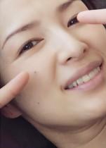 【エンタがビタミン♪】吉瀬美智子、ドアップ顔も美しい シミひとつ無く