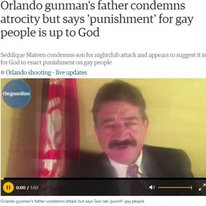 【海外発!Breaking News】フロリダ銃乱射 容疑者の父「同性愛者は神によって裁かれるべき」と発言
