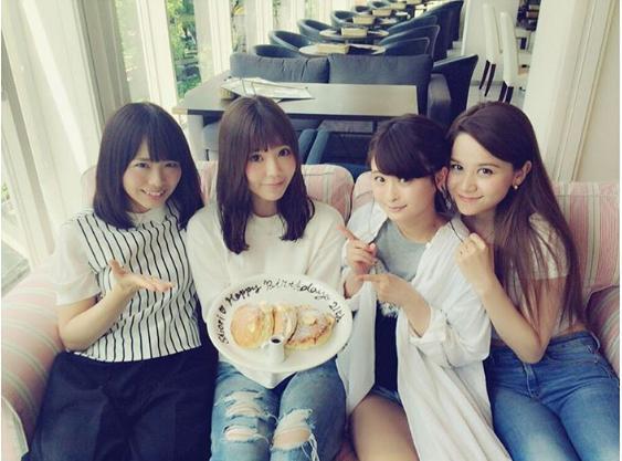 【エンタがビタミン♪】SKE48松村香織が3期生女子会に「みんな可愛くてびっくり」 小木曽汐莉の姿も