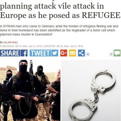 【海外発!Breaking News】ドイツ自爆テロ計画のシリア人3名逮捕、6名逃走 リーダーに裏切られ