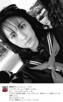 【エンタがビタミン♪】福田彩乃がセーラー服姿で昭和の世界を堪能「少女Aもいいね」