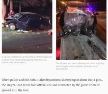 【海外発!Breaking News】「ポケモンGO」に熱中 運転していた男性が大事故 警察「命があったのは奇跡」(米)