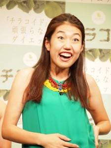 ネタ披露では元気いっぱいの横澤夏子も、安村の不倫にはショックだったよう。