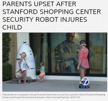 【海外発!Breaking News】セキュリティロボットが普及する米国 しかしそれで負傷する幼児も