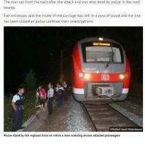 【海外発!Breaking News】「神は偉大だ!」恩を仇で返した17歳難民少年 ドイツ鉄道・斧振り回し事件で