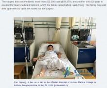 【海外発!Breaking News】白血病の父のドナーになるため、超短期間で10キロ体重を増やした8歳の息子