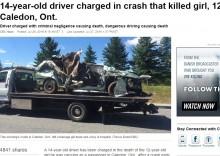 【海外発!Breaking News】14歳男子が盗難車で大事故 同乗の12歳ガールフレンド即死(カナダ)